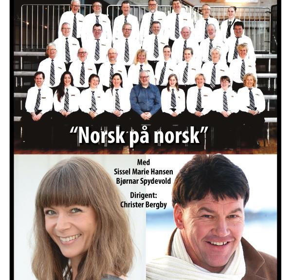 Norsk på norsk - plakat