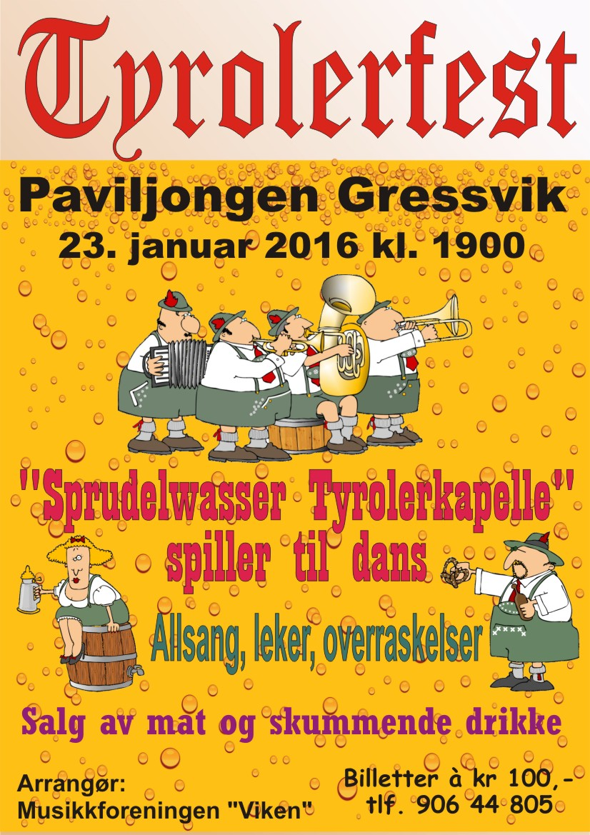 Tyrolerfest 23.01.2016