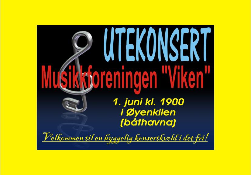 Konsert 1. juni 2016 - plakat.