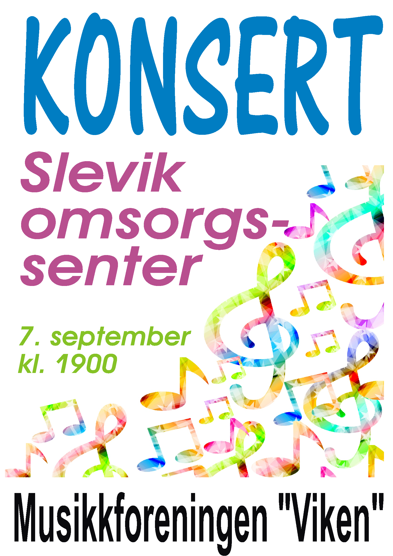 Konsert 7. september 2016