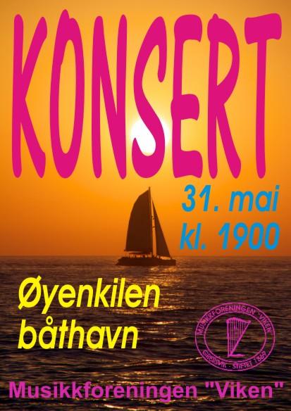 Konsert 31.05.2017 - plakat