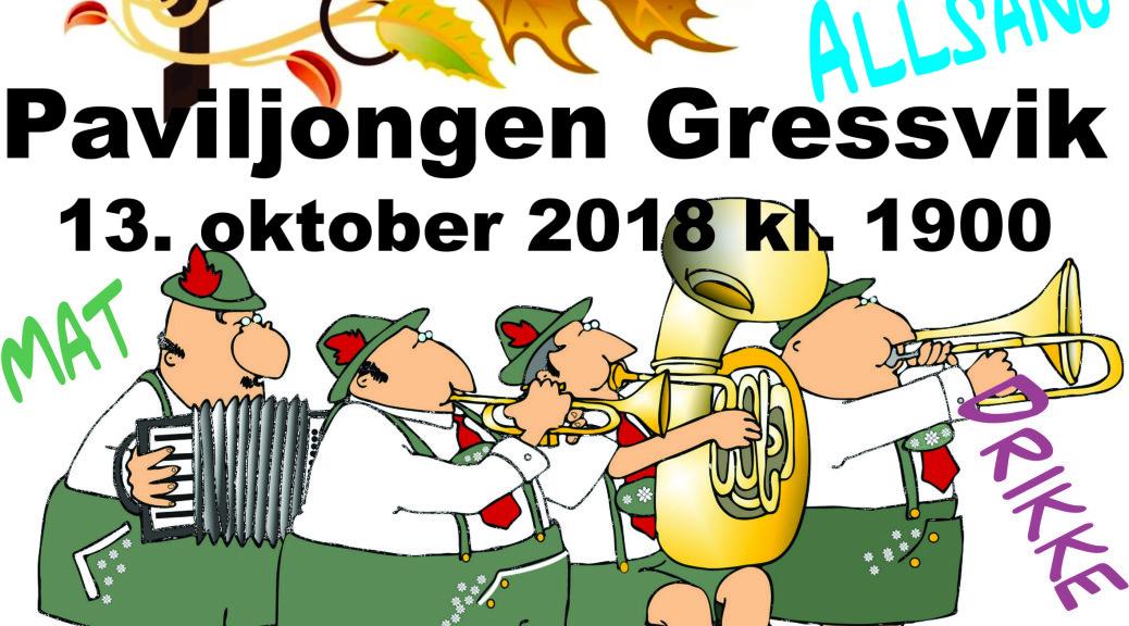 Plakat - oktoberfest 13.10.18