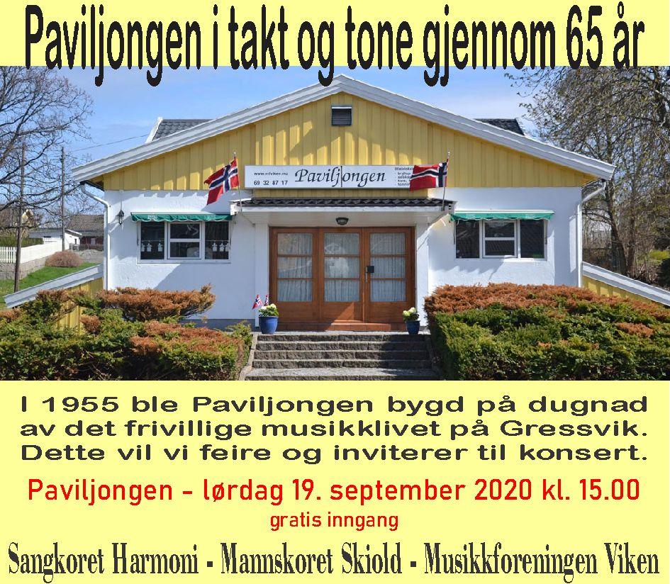19.09.20 konsert - annonse