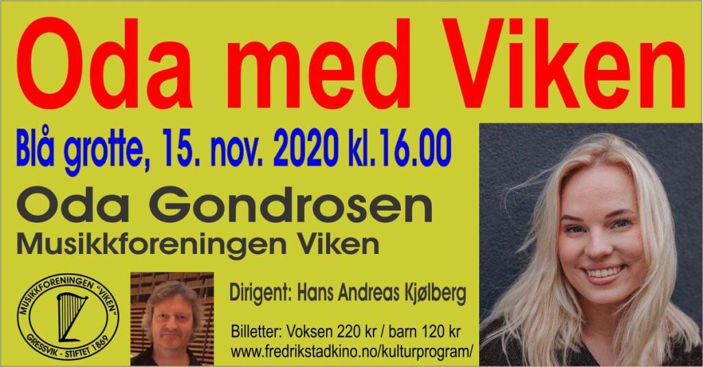 Oda med Viken 15.11.2020 - facebook-plakat